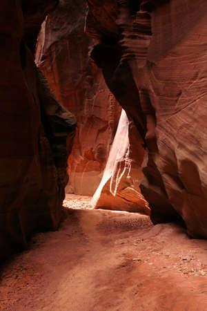 slot canyon: slot canyon trail