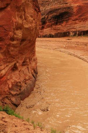fleuve boueux d�sert