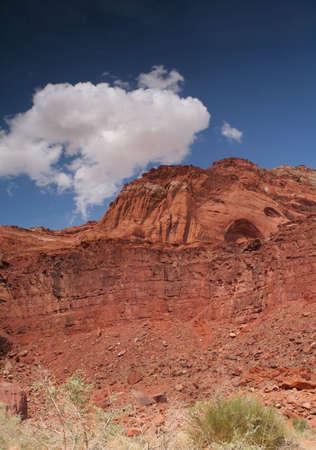 colorful desert landscape Stock Photo