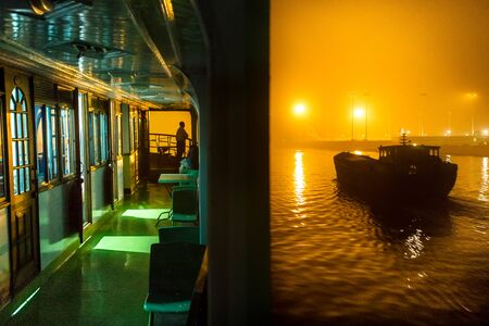 Boating and cruising Stock Photo