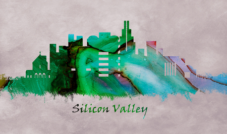 Silicon Valley California, skyline
