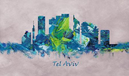 Tel Aviv Israel Skyline