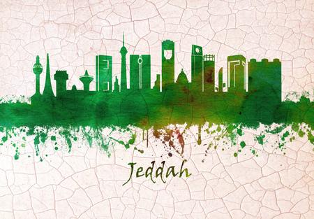 Skyline von Jeddah Saudi-Arabien