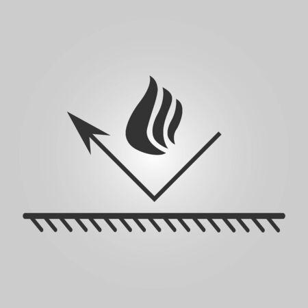 fireproof illustration - bonfire Vetores