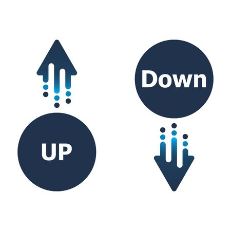 Arrow up and down icon