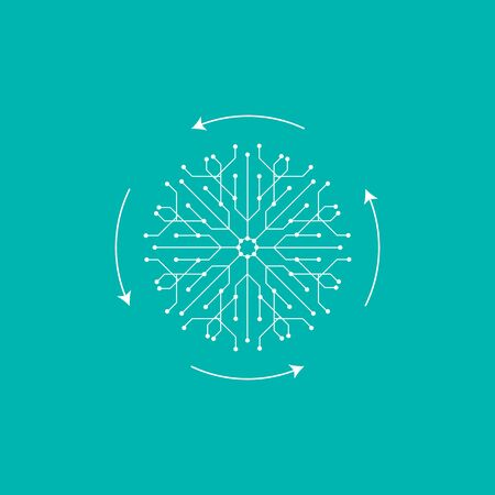 Social structure - networks - business connections - social media icon