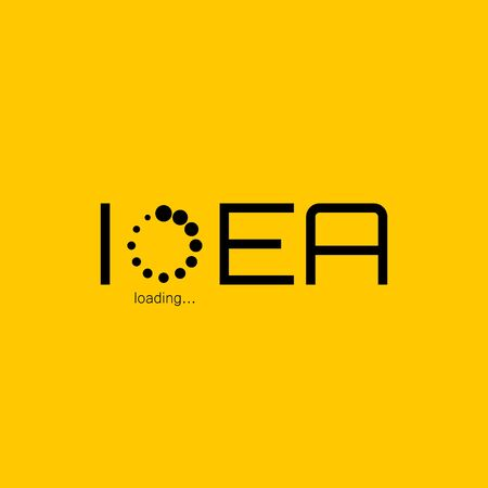 Idea icon Stock Illustratie