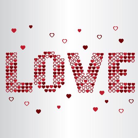 levitate: Love valentine heart text