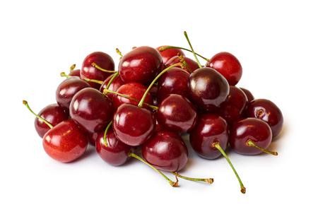 赤生桜白い背景に分離されました。 写真素材 - 83733637