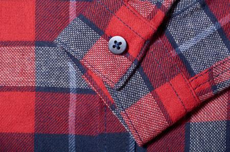 Macro photo of fabric pattern, close up of textile clothing Stock Photo - 120144494