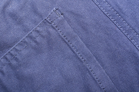 Macro photo of fabric pattern, close up of textile clothing. Stock Photo - 120144530