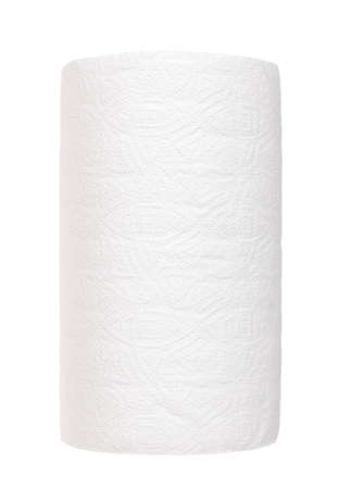 Roll of paper towel isolated on white. Stock fotó