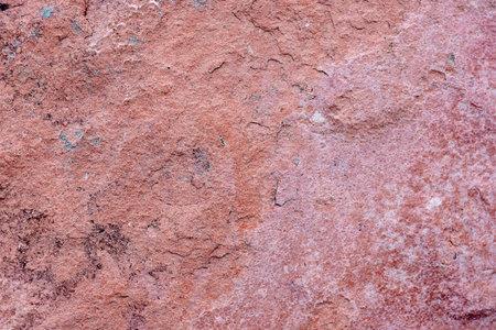 Red granite texture close up image, macro. Zdjęcie Seryjne