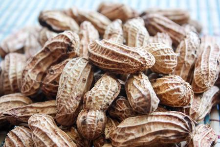 ballpark: Boiled Peanuts Stock Photo