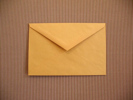 Yellow envelope  photo