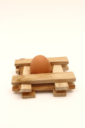 caged: Caged egg