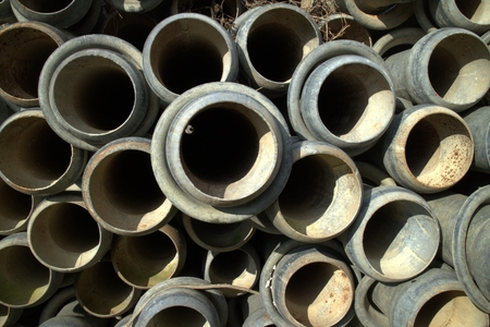 Irrigation pipes photo