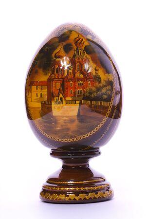 Faberge egg. Isolated on white. Stock Photo - 5973945