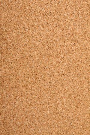 Brown cork texture. Close up.
