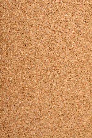 Brown cork texture. Close up. photo