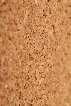 Brown cork texture. Selective focus. Stock Photo - 6833362