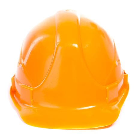 Hard Hat. Isoalted on white. photo
