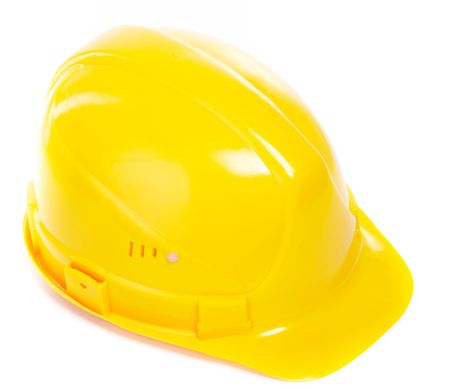 Hard Hat. Isoalted on white. Stock Photo - 6833373