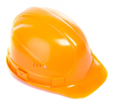 Hard Hat. Isoalted on white. Stock Photo - 6833372