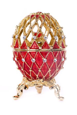 Faberge egg. Isolated on white. Stock Photo - 6833556