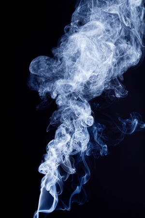 Tobacco smoke. On black background. Stock Photo - 7775724