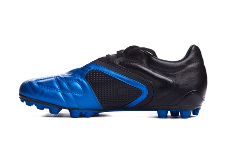 football boots: Footbal boots. Soccer boots. Isolated on white.