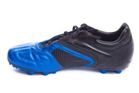 Footbal boots. Soccer boots. Isolated on white. Stock Photo - 8337495