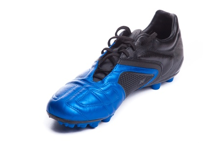 Footbal boots. Soccer boots. Isolated on white. Stock Photo - 8337434