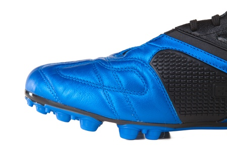 Footbal boots. Soccer boots. Isolated on white. Stock Photo - 8337500