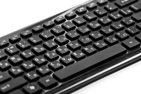 Black keyboard - close up. B Stock Photo - 10382243