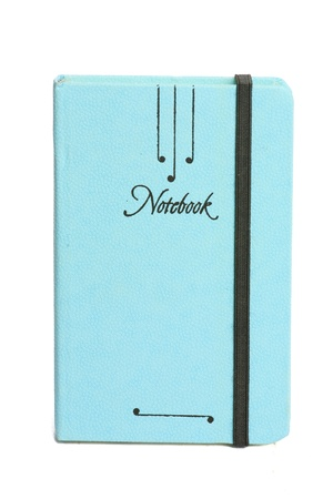 Notebook on the white background. Stock Photo - 10763262
