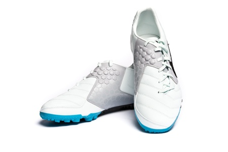 Football boots. Soccer boots. Stock Photo - 10763237