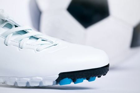 Football boots. Soccer boots. Stock Photo - 10763285