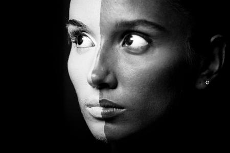 Vogue style portrait of a woman  photo