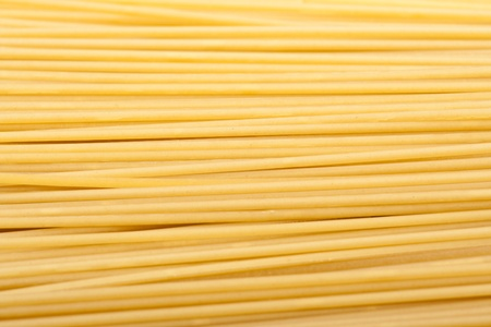 close-up raw pasta isolated Stock Photo - 11230988