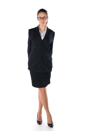 Business woman. Isolated over white background Stock Photo - 11889260