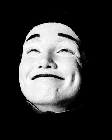 mime: Street mime.