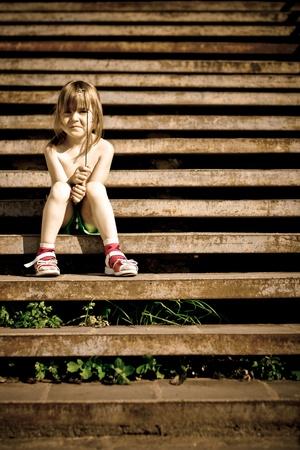 Single child photo