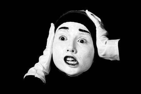 Street mime. Stock Photo - 11889502