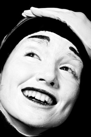 Street mime. photo