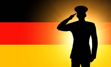 The German flag photo