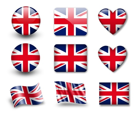 The British flag Stock Photo - 12406951