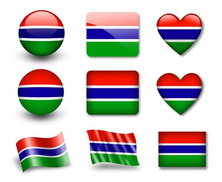 The Gambia Flag photo