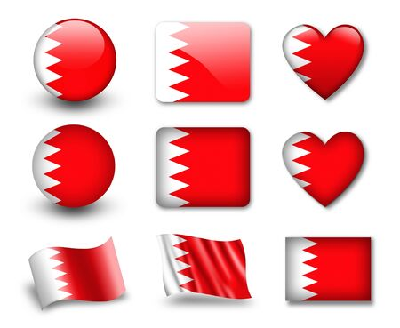 The Bahraini flag photo