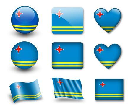 The Aruba Flag photo
